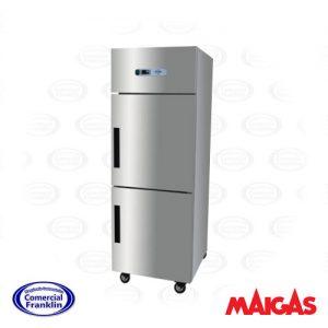 Congelador Industrial 2 Puertas 500 Litros Maigas
