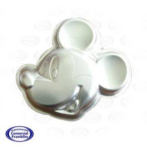 Molde Queque Mickey Aluminio