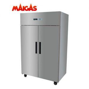 Refrigerador 2 Puertas Acero 1000 Lts Maigas