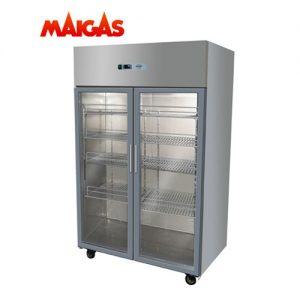 Refrigerador 2 Puertas Vidrio 1000 Lts Maigas