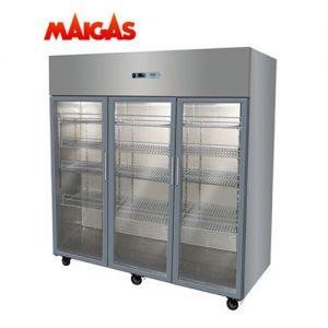 Refrigerador Mantenedor 3 Puertas Vidrio 1500 Lts Maigas