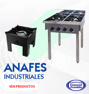 anafes-industriales-comercial-franklin